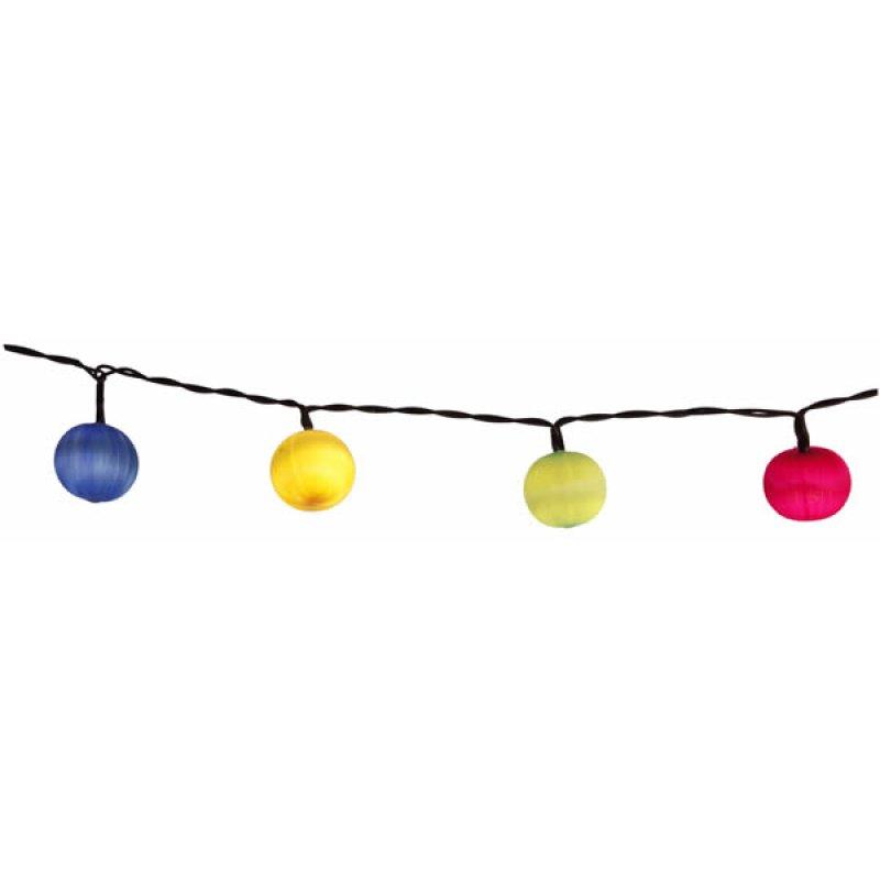 led lichterkette mixed colour balls 10 w w led bunte kugeln ca 0 8 m. Black Bedroom Furniture Sets. Home Design Ideas