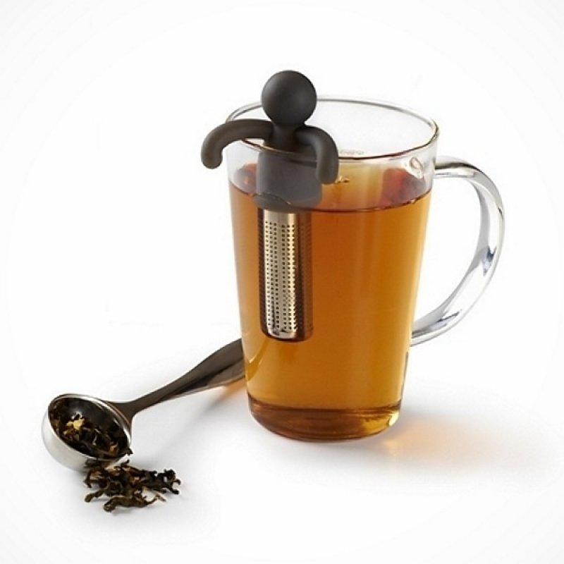 trend buddy tea infuser umbra teeei tee ei tee ei schwarz. Black Bedroom Furniture Sets. Home Design Ideas
