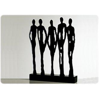 deko figuren lifestyle kreativ schenken und wohnen mit skulpturen seite 2. Black Bedroom Furniture Sets. Home Design Ideas
