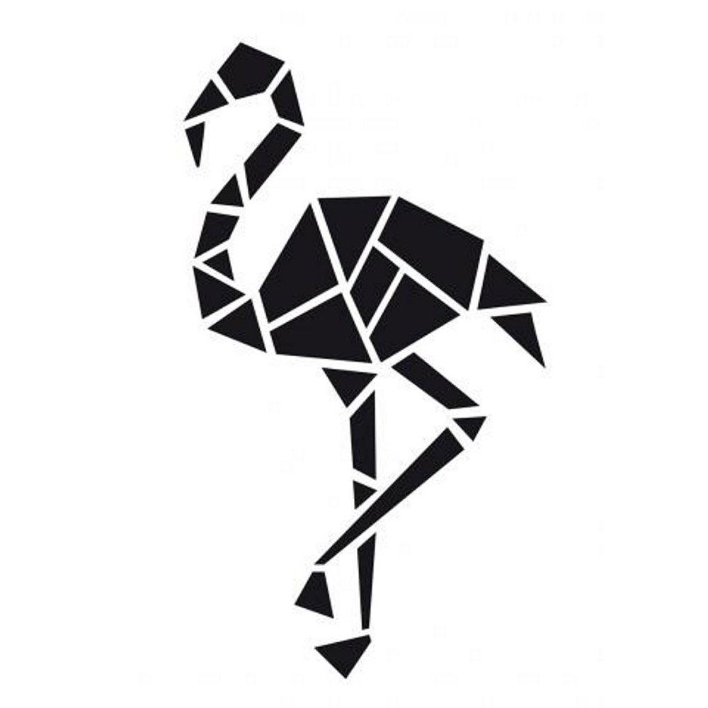 3D Paper model - Flamingo - Fridolin | 1000x1000