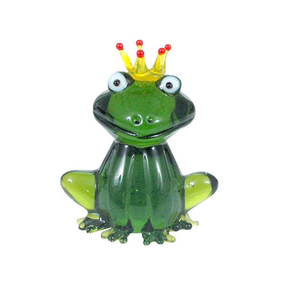 Froschkonig Aus Glas Glasfigur Frosch Glastier Lifestyle