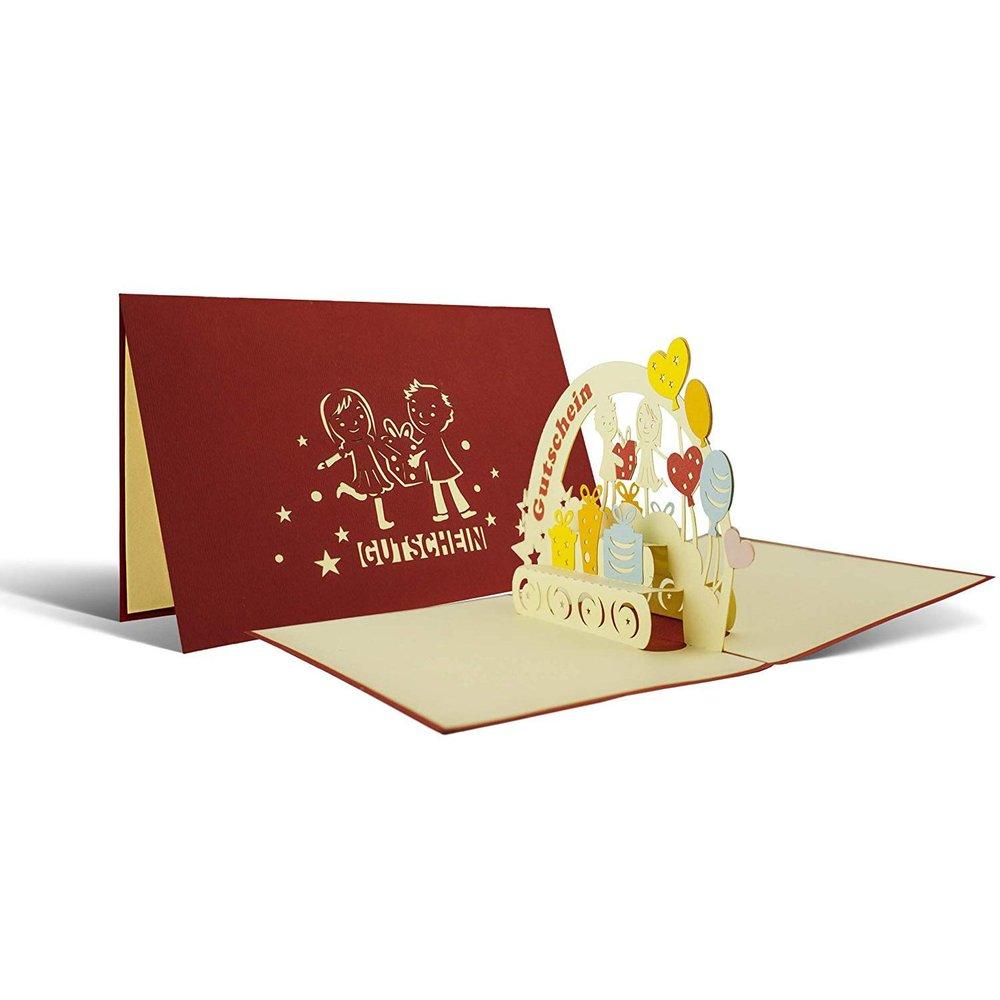 Gutscheinkarte I Geburtstagskarte I Geldgeschenk I Gutschein I Oma